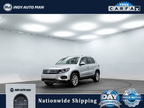 2017 Volkswagen Tiguan for sale at INDY AUTO MAN in Indianapolis IN