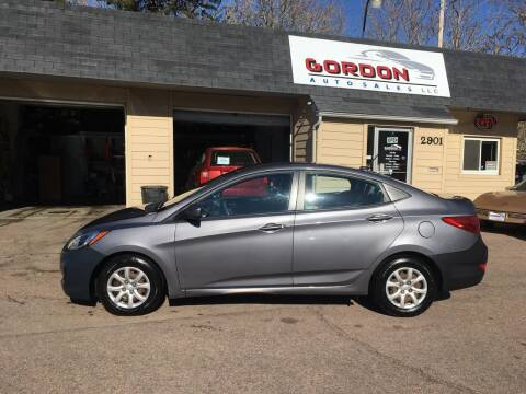 2013 Hyundai Accent for sale at Gordon Auto Sales LLC in Sioux City IA