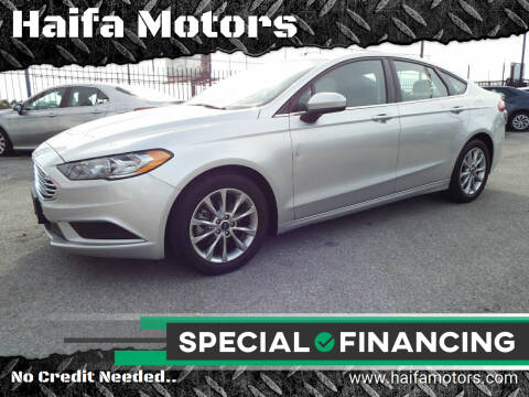 2017 Ford Fusion for sale at Haifa Motors in Philadelphia PA