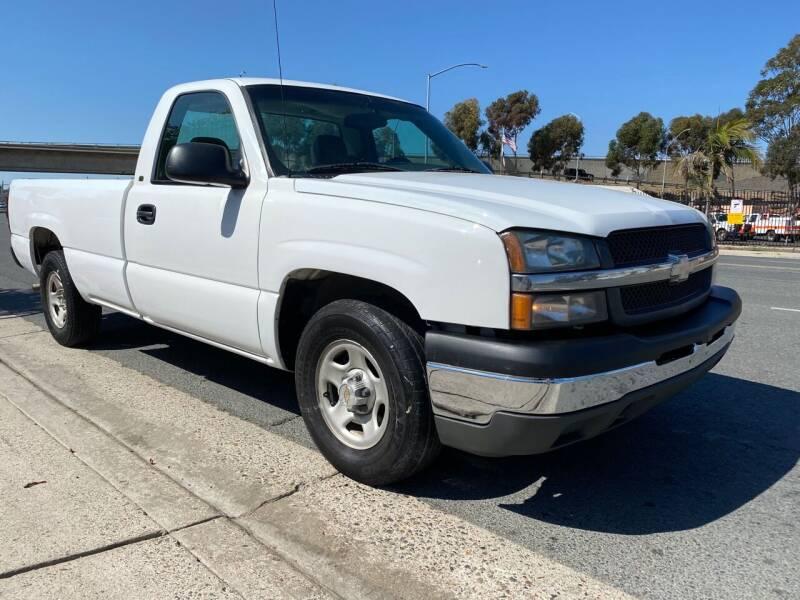 2003 Chevrolet Silverado 1500 for sale at Beyer Enterprise in San Ysidro CA