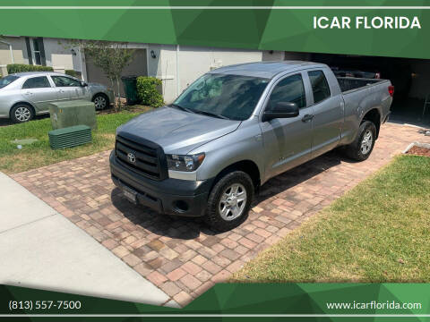 2012 Toyota Tundra for sale at ICar Florida in Lutz FL