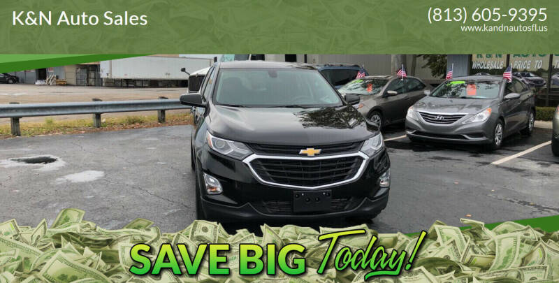 2019 Chevrolet Equinox for sale at K&N Auto Sales in Tampa FL