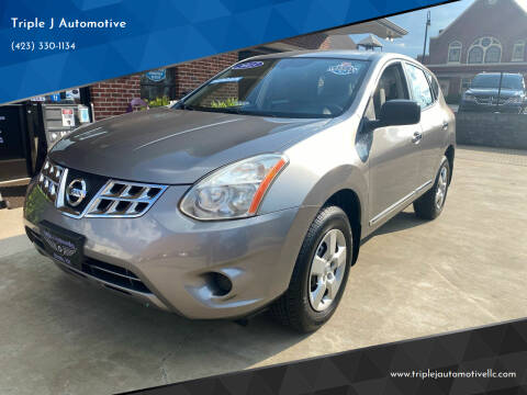 2013 Nissan Rogue for sale at Triple J Automotive in Erwin TN