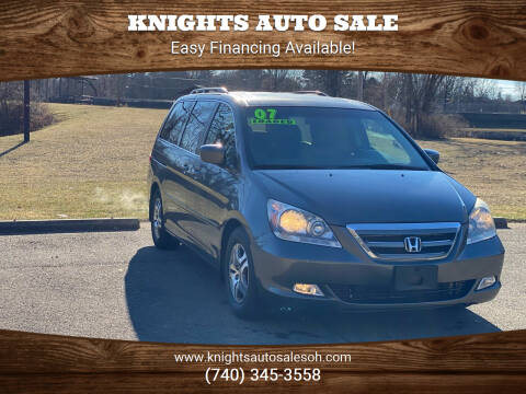 2007 Honda Odyssey for sale at Knights Auto Sale in Newark OH