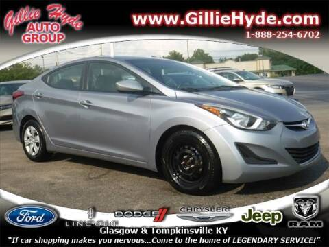 2016 Hyundai Elantra for sale at Gillie Hyde Auto Group in Glasgow KY