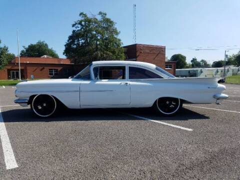 1959 Chevrolet Biscayne for sale at Classic Car Deals in Cadillac MI