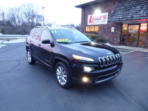 2017 Jeep Cherokee for sale at Luigi's Automotive Collision Repair & Sales in Kenosha WI