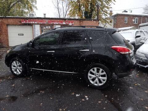 2012 Nissan Murano for sale at HARTFORD MOTOR CAR in Hartford CT