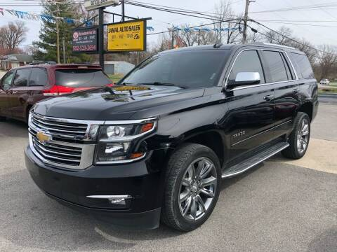 2015 Chevrolet Tahoe for sale at Wise Investments Auto Sales in Sellersburg IN