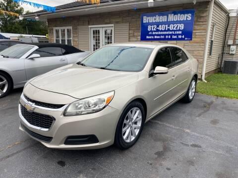 2014 Chevrolet Malibu for sale at Brucken Motors in Evansville IN