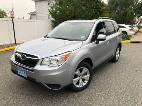 2016 Subaru Forester for sale at Giordano Auto Sales in Hasbrouck Heights NJ