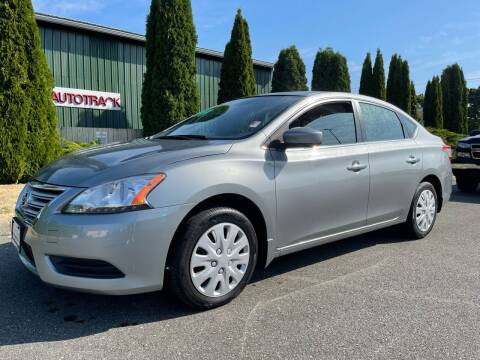 2014 Nissan Sentra for sale at AUTOTRACK INC in Mount Vernon WA