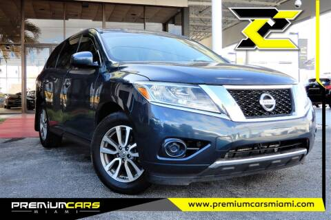 2014 Nissan Pathfinder for sale at Premium Cars of Miami in Miami FL