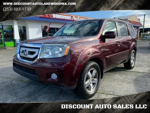 2009 Honda Pilot for sale at DISCOUNT AUTO SALES LLC in Lakewood WA