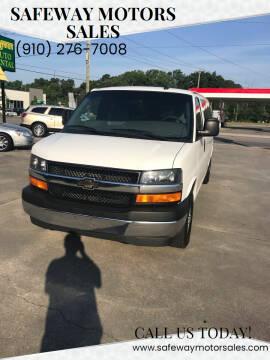 2017 Chevrolet Express Passenger for sale at Safeway Motors Sales in Laurinburg NC