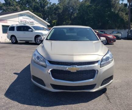 2014 Chevrolet Malibu for sale at Linus International Inc in Tampa FL