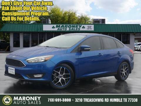 2018 Ford Focus for sale at Maroney Auto Sales in Humble TX