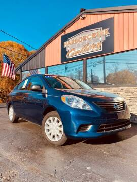 2012 Nissan Versa for sale at Harborcreek Auto Gallery in Harborcreek PA