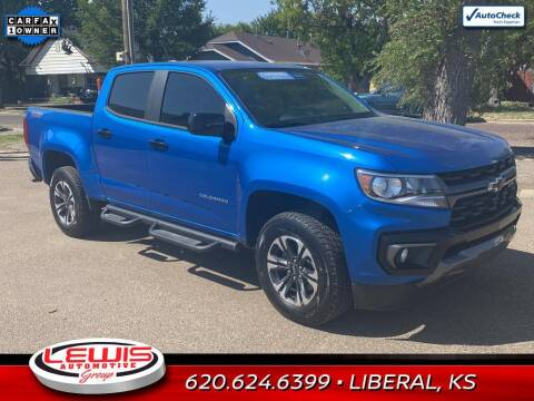 2021 Chevrolet Colorado for sale at Lewis Chevrolet Buick of Liberal in Liberal KS