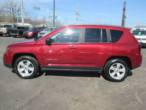 2015 Jeep Compass for sale at Home Street Auto Sales in Mishawaka IN