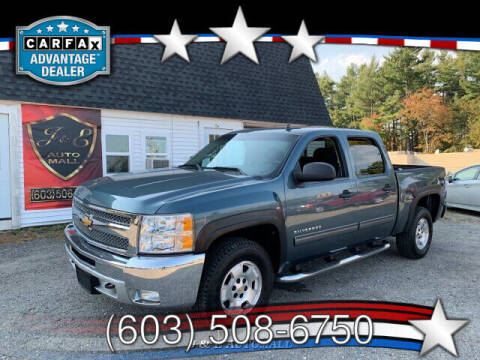 2012 Chevrolet Silverado 1500 for sale at J & E AUTOMALL in Pelham NH