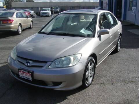 2005 Honda Civic for sale at Primo Auto Sales in Merced CA