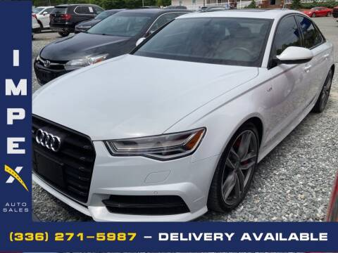 2018 Audi S6 for sale at Impex Auto Sales in Greensboro NC