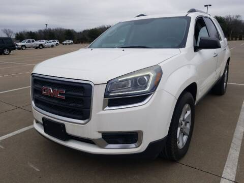 2013 GMC Acadia for sale at Nile Auto in Fort Worth TX