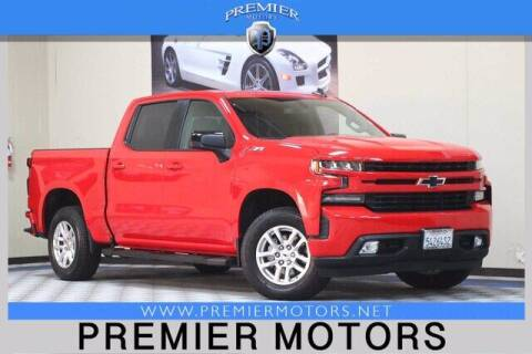 2019 Chevrolet Silverado 1500 for sale at Premier Motors in Hayward CA