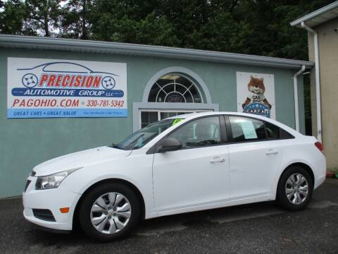 2014 Chevrolet Cruze for sale at Precision Automotive Group in Youngstown OH