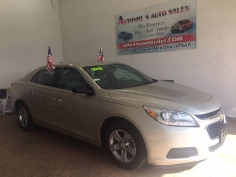 2016 Chevrolet Malibu Limited for sale at Antonio's Auto Sales - Antonio`s  2206 in Pasadena TX