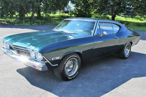 1968 Chevrolet Chevelle Malibu for sale at Great Lakes Classic Cars & Detail Shop in Hilton NY