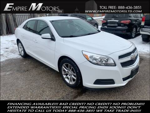 2013 Chevrolet Malibu for sale at Empire Motors LTD in Cleveland OH