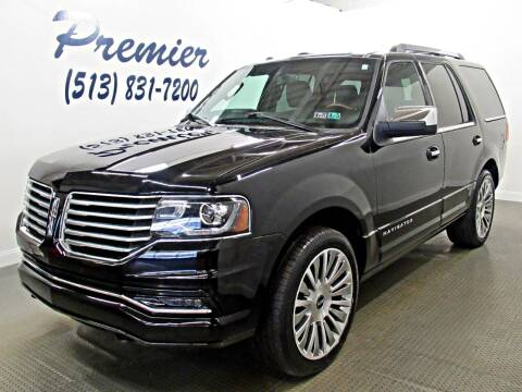 2017 Lincoln Navigator for sale at Premier Automotive Group in Milford OH