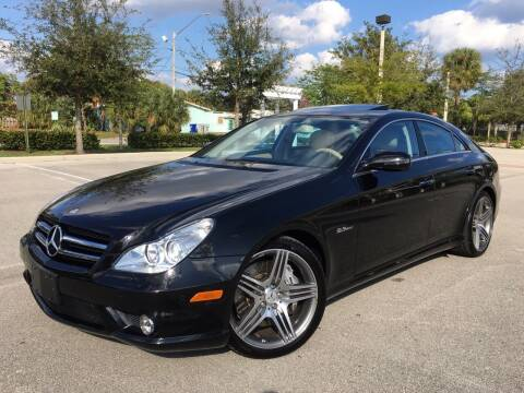 2009 Mercedes-Benz CLS for sale at FIRST FLORIDA MOTOR SPORTS in Pompano Beach FL