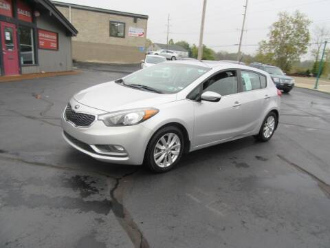 2015 Kia Forte5 for sale at Riverside Motor Company in Fenton MO