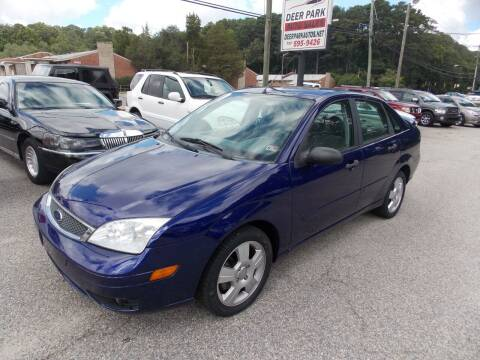 2005 Ford Focus for sale at Deer Park Auto Sales Corp in Newport News VA