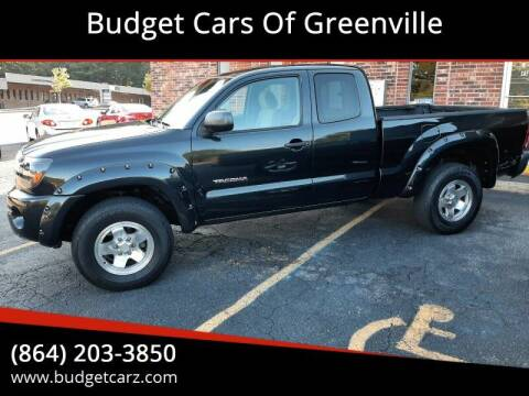 2007 Toyota Tacoma for sale at Budget Cars Of Greenville in Greenville SC