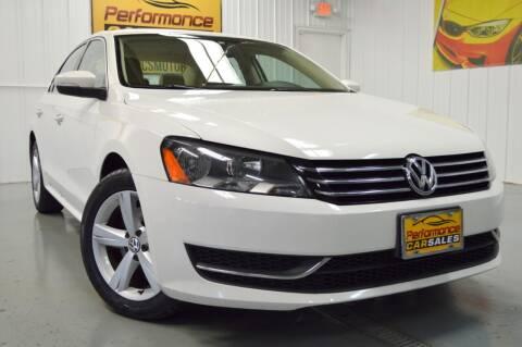 2013 Volkswagen Passat for sale at Performance car sales in Joliet IL