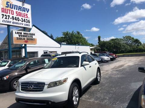 2006 Infiniti FX35 for sale at Sunray Auto Sales Inc. in Holiday FL