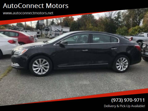 2014 Buick LaCrosse for sale at AutoConnect Motors in Kenvil NJ