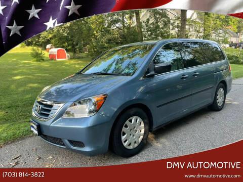 2009 Honda Odyssey for sale at DMV Automotive in Falls Church VA