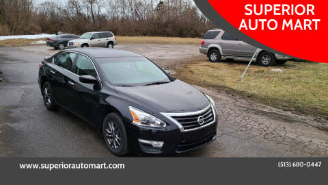 2015 Nissan Altima for sale at SUPERIOR AUTO MART in Amelia OH
