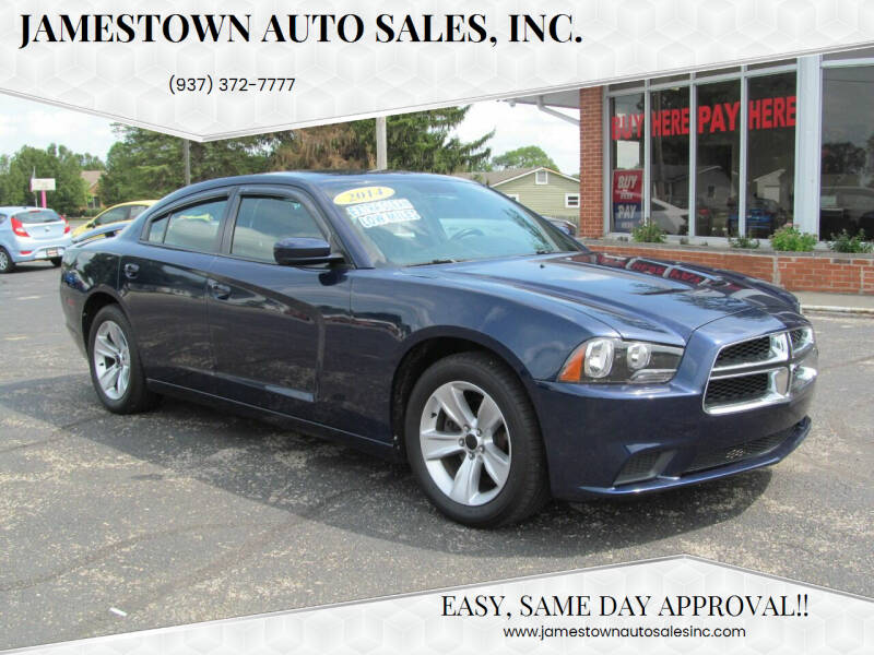 2014 Dodge Charger for sale at Jamestown Auto Sales, Inc. in Xenia OH