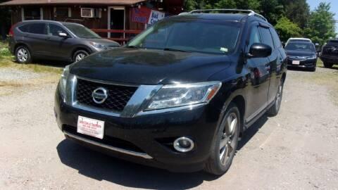 2014 Nissan Pathfinder for sale at Select Cars Of Thornburg in Fredericksburg VA