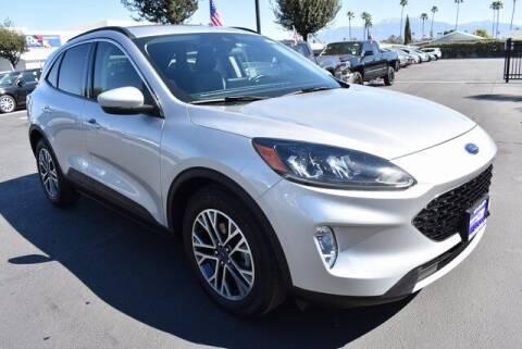 2020 Ford Escape for sale at DIAMOND VALLEY HONDA in Hemet CA