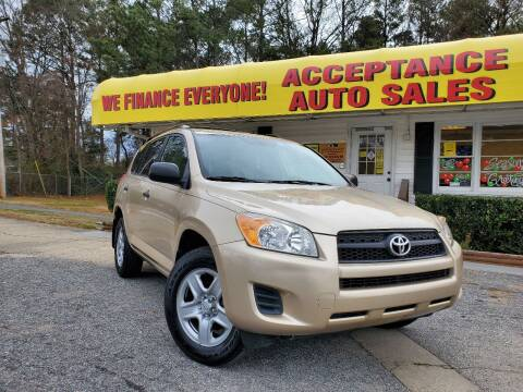 2010 Toyota RAV4 for sale at Acceptance Auto Sales in Marietta GA