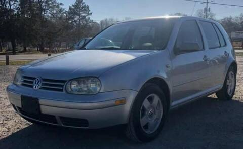 2002 Volkswagen Golf for sale at Hilltop Auto in Prescott MI