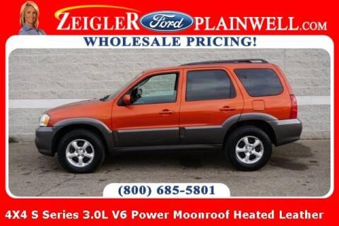 2005 Mazda Tribute for sale at Zeigler Ford of Plainwell- michael davis in Plainwell MI