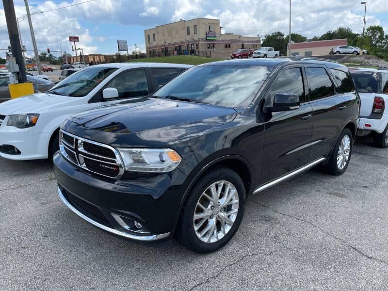 2016 Dodge Durango for sale at Greg's Auto Sales in Poplar Bluff MO